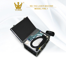 Portable multifunction nd yag laser beauty machine for sale
