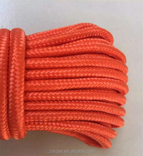 Shandong factory High quality PP multifilament material polypropylene braided rope for wholesale