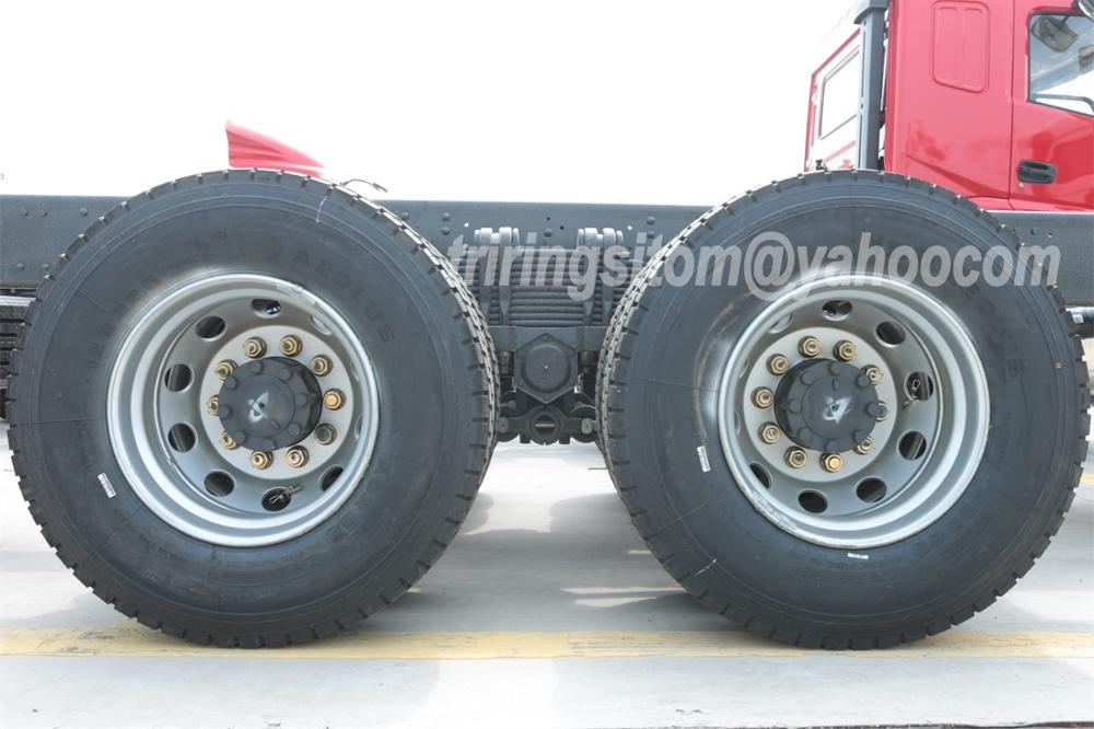 Cummins 260HP Sitom 20T 25T 6x4 10 wheel dump truck