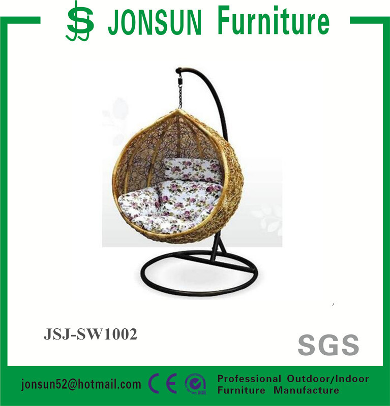 Garden furniture hanging chair egg chair outdoor rattan swing chair