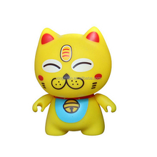Funny cartoon character plastic toy children favors PVC action figures for sale