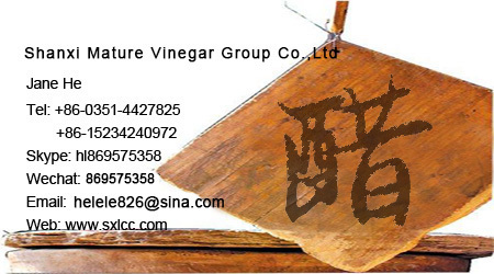 leading brand420ml flavored brewed natural shanxi vinegar made of pure sorghum agriculture crops