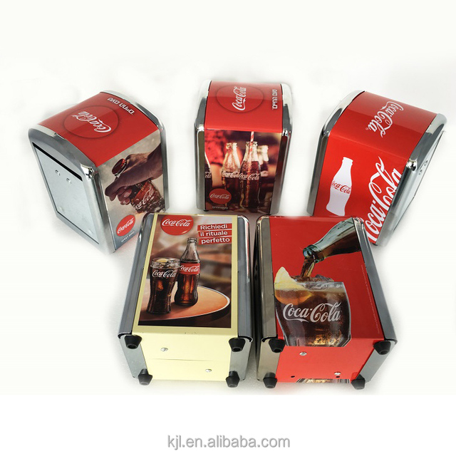 Wholesale plating fram napkin dispenser with BSCI and SEDEX