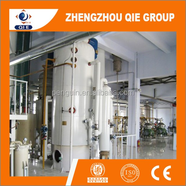 Rice Bran Oil Refinery Process Flow