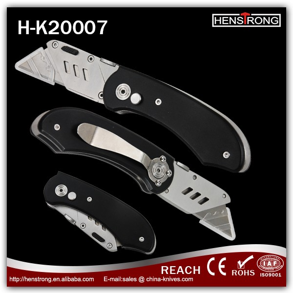Henstrong Patented Medium Utility Knife ,Stainless Steel Box Cutter