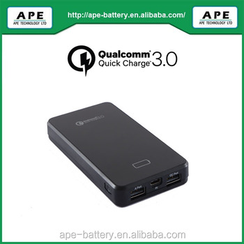 Quick charge 3.0 & USB Type C power bank 8000mAh