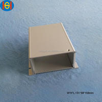 clear anodized extruded aluminum led housing
