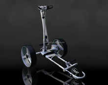 fast aluminum electric golf caddy