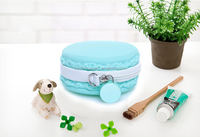 Promotion Cute Smart Macaron Silicone Coin Purse