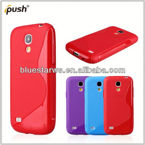 high quality for samsung s4 mini soft tpu case tpu case for samsung s4mini i9190