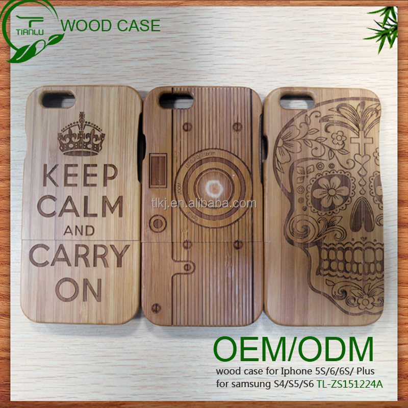 custom mobile phone case cover for iphone 6 bamboo wood case phone shell custom for macbook pro shell case