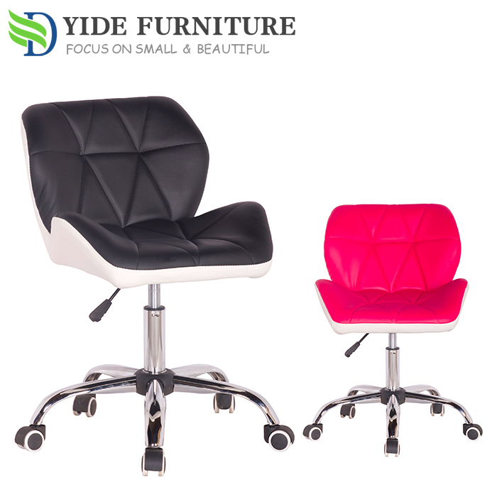 Swivel leather bar chair adjustable seat furniture Bar stool