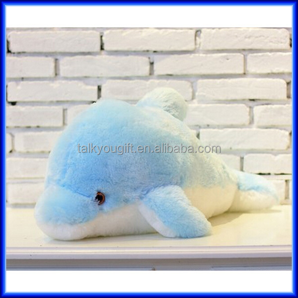 Animal Plush Led Dolphin Pillow,Led Flashing Light Up Hug Dolphin Pillow - Buy Animal Plush Led ...