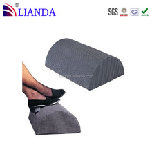 High Quality Polyurethane Visco Memory Foam Foot Cushion Pillow, Non-slip Foot Rest Cushion