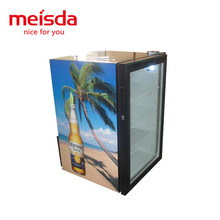Meisda 68L glass door soft drink and Mineral Water Refrigerator