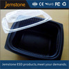 clear plastic food cylinder packaging plastic food tray