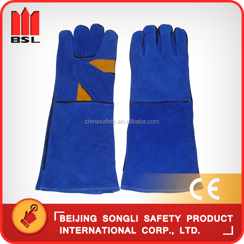 SLG-HD8020-B3 cowsplit leather welding <strong>gloves</strong>