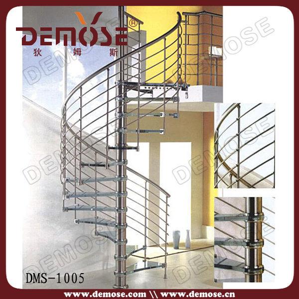 Interior escalera caracol metalicas precios para casa - Escaleras caracol precios ...