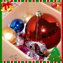 Professional glass ball christmas tree decoration with low price