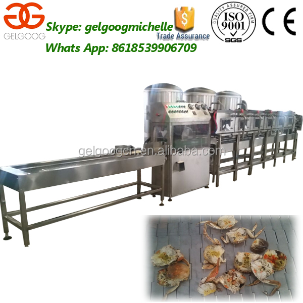 Good Performance Professional Crab Roe Separating Machine