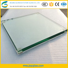 10mm Clear Safety Tempered Glass for Commercial Buildings