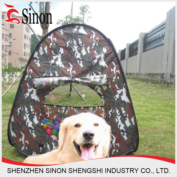 600D polyester animal Cat Dog Laceration resistant mini pop up pet tent & 600D polyester animal Cat Dog Laceration resistant mini pop up pet ...