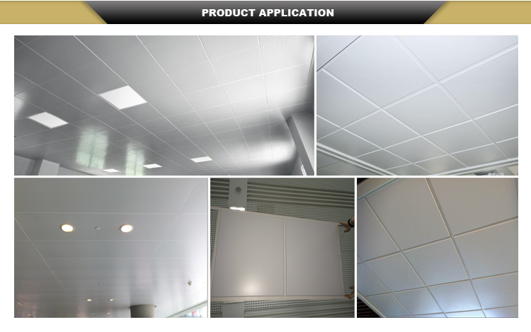 Supply New High-quality Aluminum Suspended Ceiling 60 x 60cm