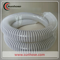 PVC spiral flexible hose 3 inch pvc suction water hose