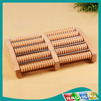 wholesale blood circulation foot massage machine &wooden massage roller