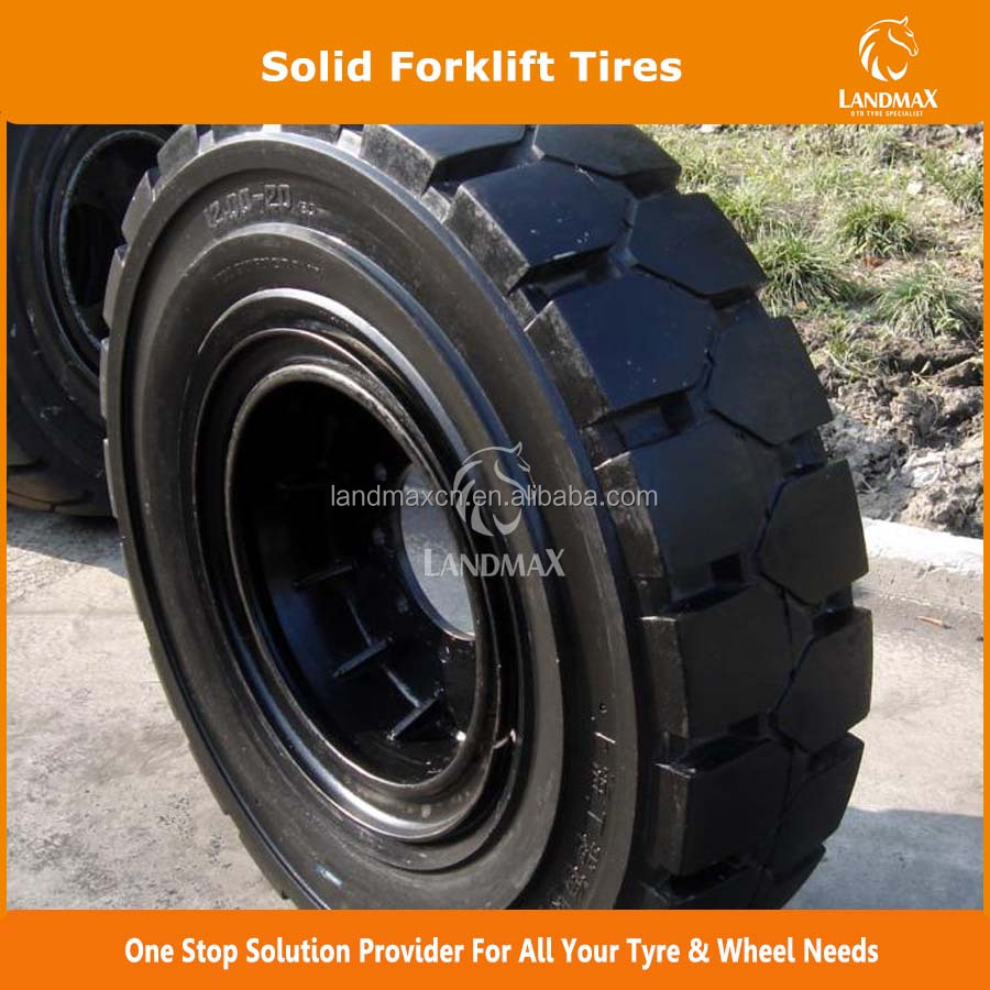 Solid Tire 5.00-8 6.00-9 6.50-10 7.00-9 7.50-16