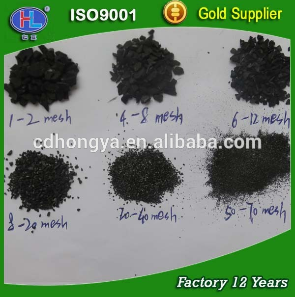 Coconut shell based granular silver impregnated activated carbon