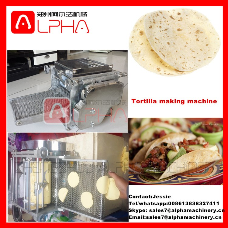 Flour tortilla press /electric tortilla warmer /tortilla chip machine