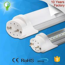 10 Years Factory 2 Years Warranty 183lm/w t8 led tube with battery backup