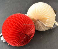 Chinese Factory Craft Honeycomb Paper Ball Home Decoration, Shopping Mall Decorations