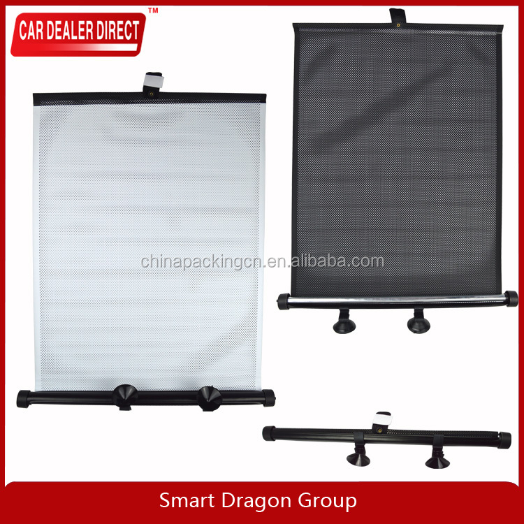 Wholesale Auto Retractable S Car Sunshade with solar power