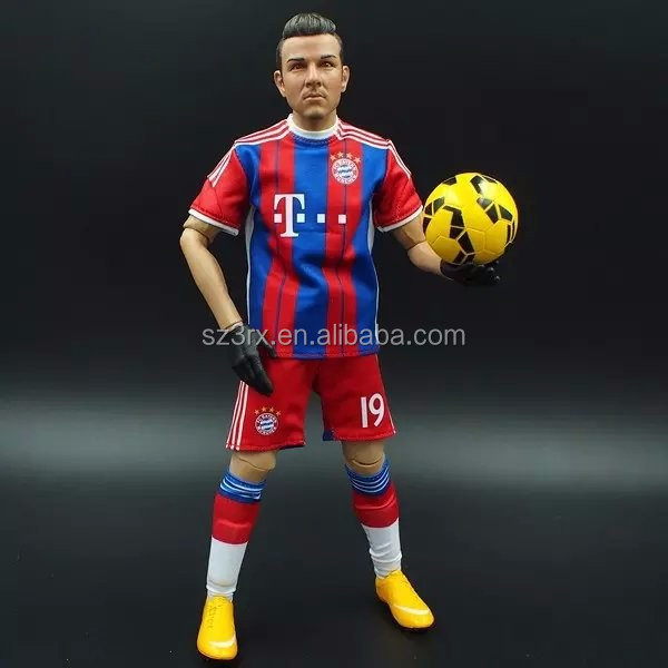 Customized soccer star figures Chelsea/3d soccer player action figure/Factory price football team player toys