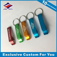 Aluminum customized laser engraving metal keychain
