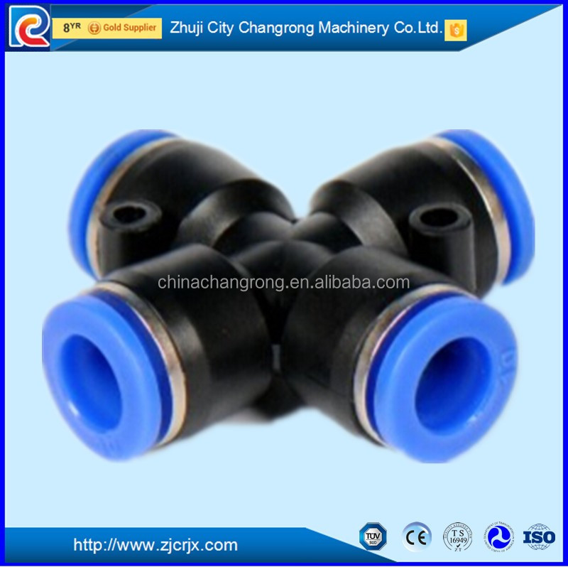 brass pneumatic fitting and pneumatic quick coupling Pneumatic Plastic brass air brake hose fitting