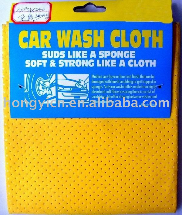 Car wash cloth