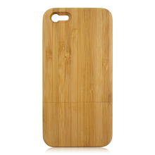 2017 Custom design wooden phone shell,carbonized bamboo back cover for iPhone 5C