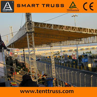 Hot Sale Used Aluminum Exhibition Truss Outdoor Trade Show Booth