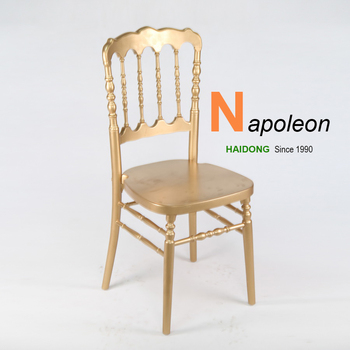 Cheap Wooden Silla Napoleon Wedding Chair Supplier Chinese Furniture Manufacturer