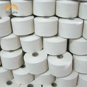 Cheap price fashion eco-friendly white blend melange yarn for knitting
