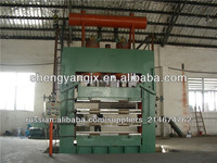 mdf door skin hot press machine / hot press for doors