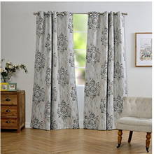 wholesale china white embroidered cafe hotel blackout curtains