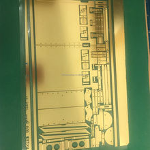 0.3mm,0.5mm,0.7mm photo etching ship,tank ,car ,aircraft model brass parts