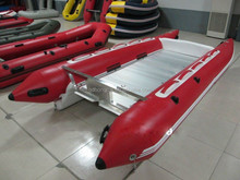 2017 year new 13ft inflatable high speed rubber boat for sale