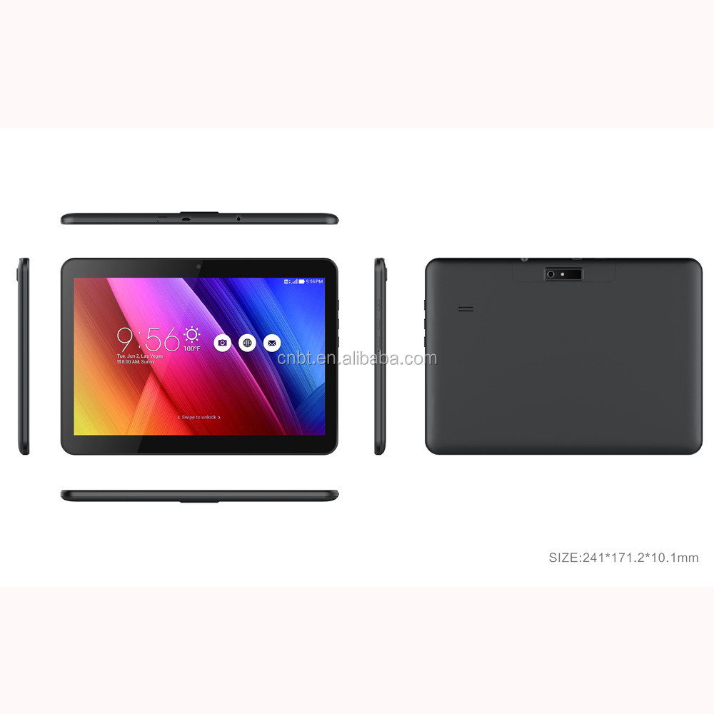2017 New 10 inch 3G 4G LTE tablet Octa core 1920*1200 IPS HD 8.0MP 4GB 32GB Android 6.0 Bluetooth GPS tablet 10 10.1