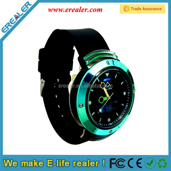 BWQ04 Green color Bluetooth Pedometer Intelligent smart Watch