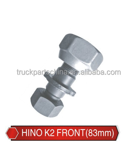 customise Great Space enterprise ltd zinc color truck parts bolt and nut NEW M20x1.5 M19x1.5-83MM